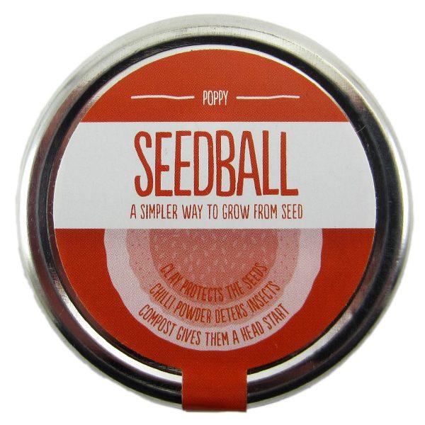 Seedball Poppy - Petite Plante