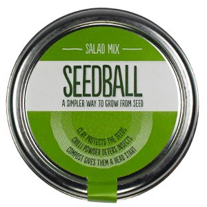 Seedball Salad Mix - Petite Plante