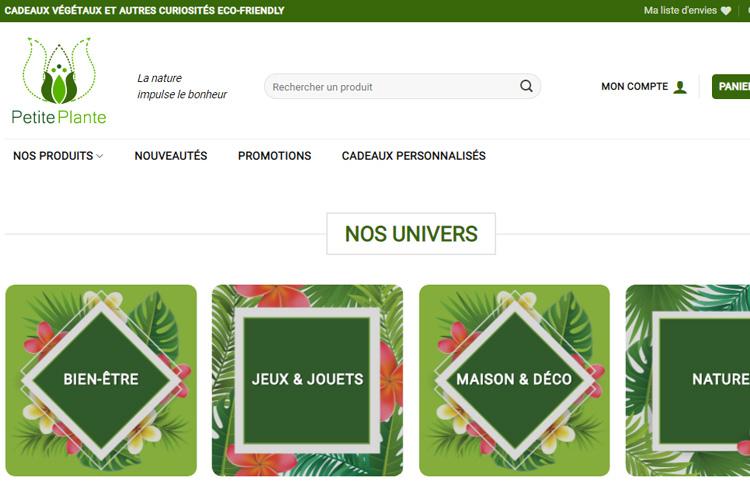 Blog Bienvenue - Petite Plante