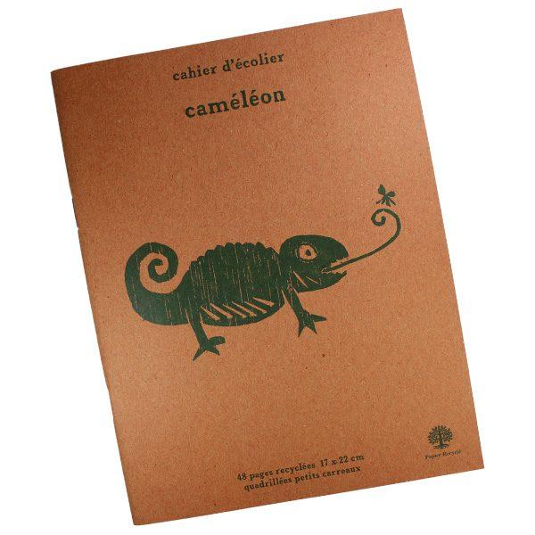 Cahier d'Écolier Caméléon - Petite Plante