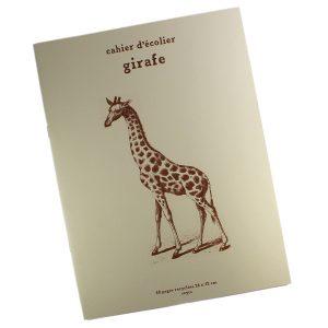Cahier d'Écolier Girafe - Petite Plante