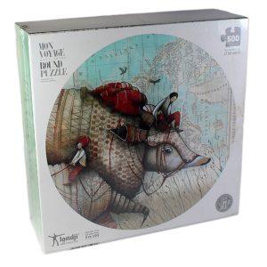 Puzzle Mon Voyage avec Tatou - Petite Plante - 2