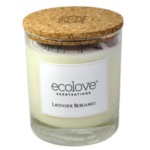 Ecolove Bougie Aromatique Lavande Bergamote - Petite Plante