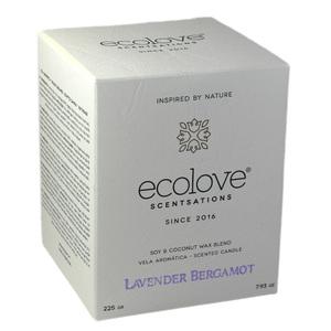 Ecolove Bougie Aromatique Lavande Bergamote - Petite Plante - 2