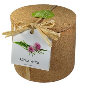 Grow Cork Ciboulette - Petite Plante