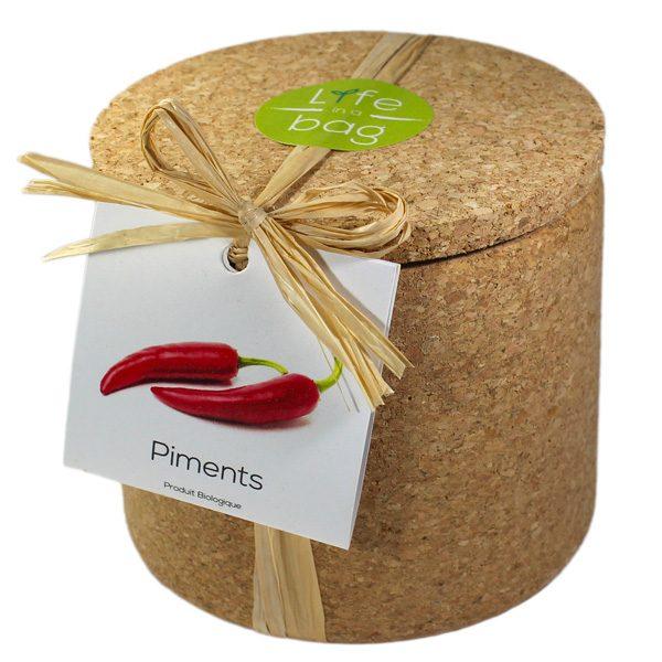 Grow Cork Piments - Petite Plante