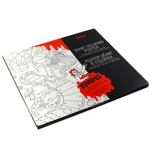 Poster Géant à Colorier - Zombies - Petite Plante